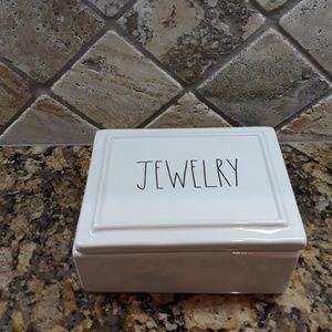 New Rae Dunn JEWELRY Box